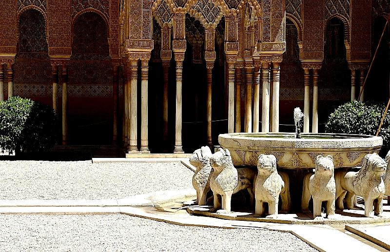 львы альгамбры
