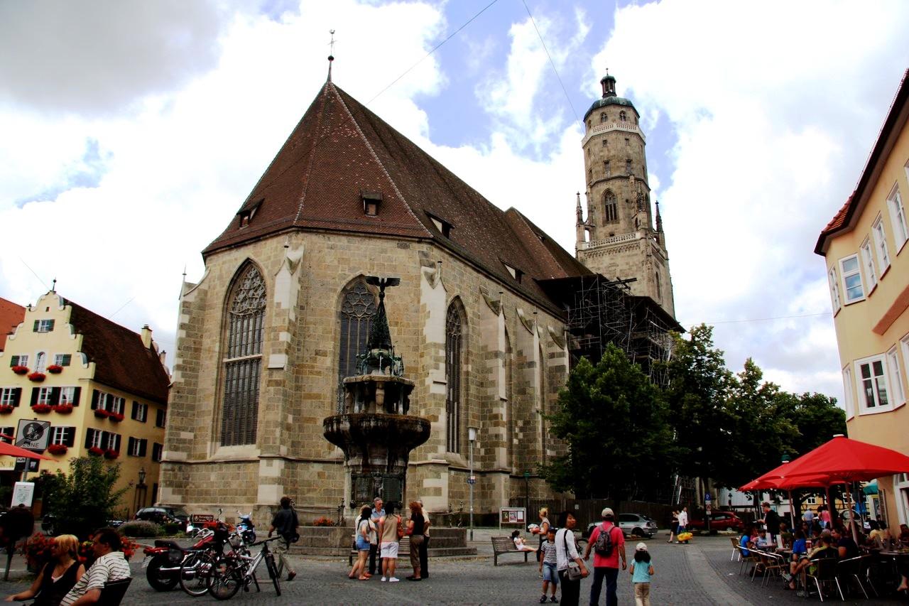 церковь Нордлингена
