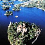 панорама острова сердца