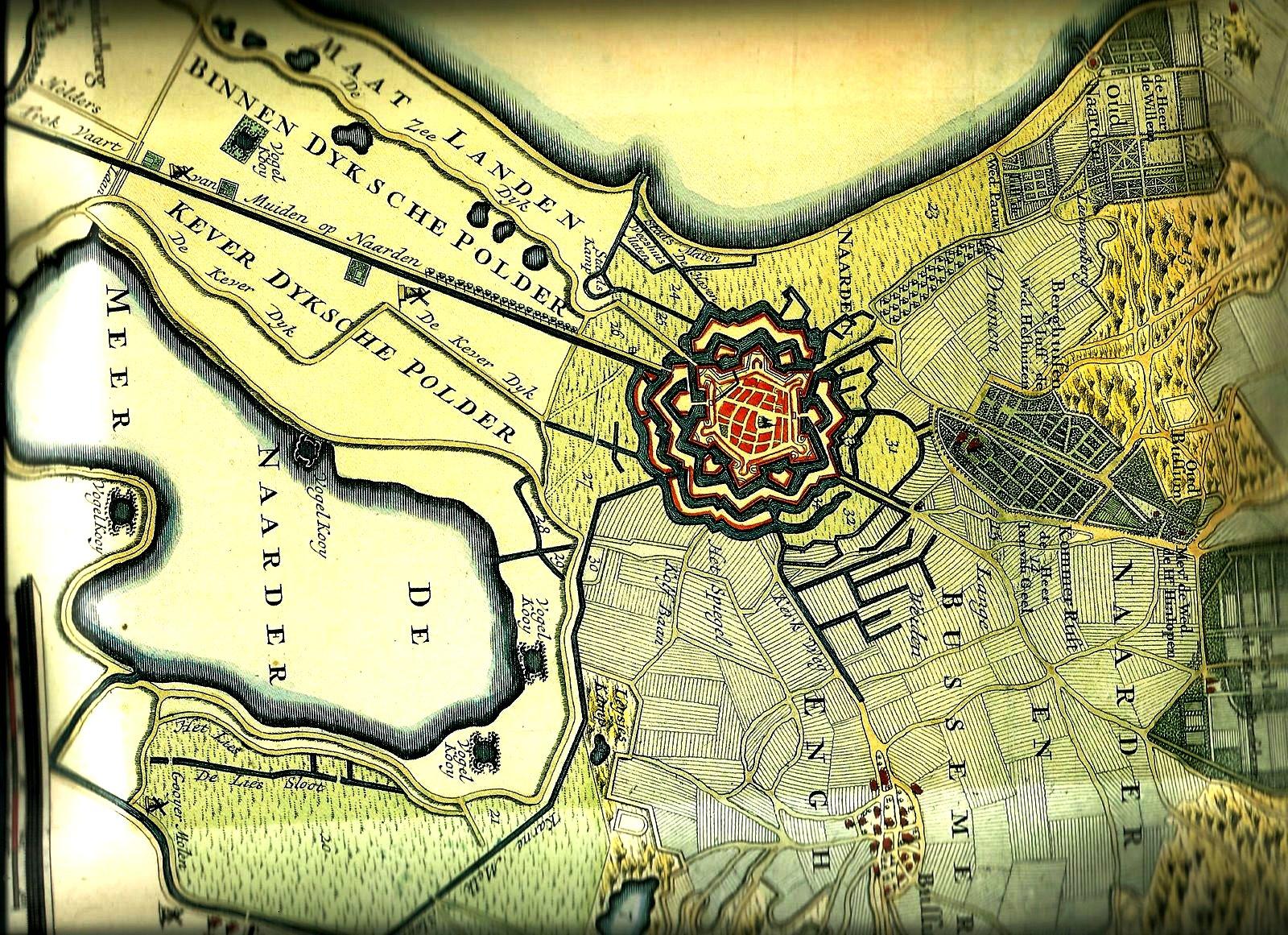 карта наардена