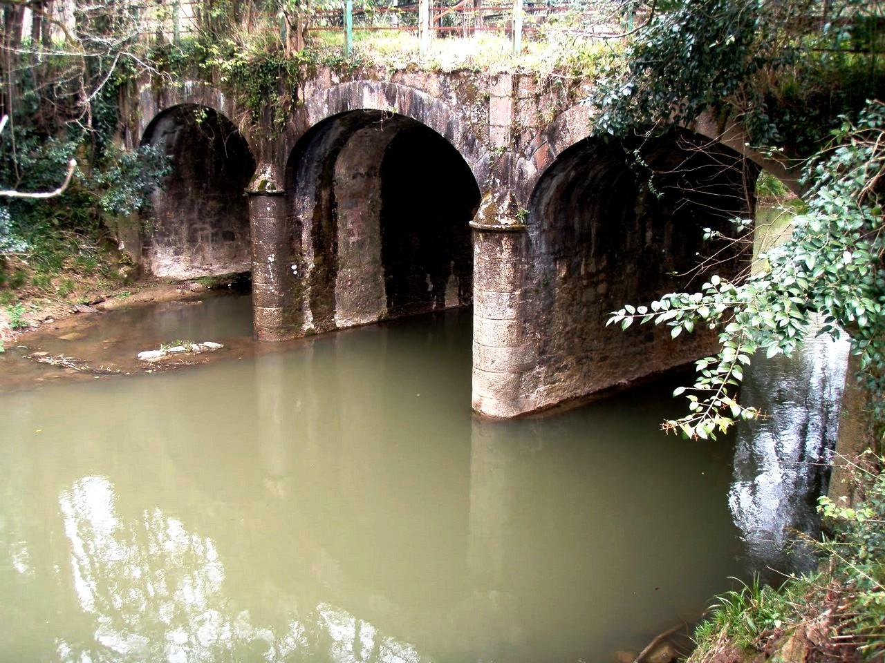 каменный мост замка бутрон