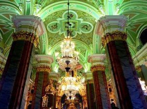 залы петропавловского собора