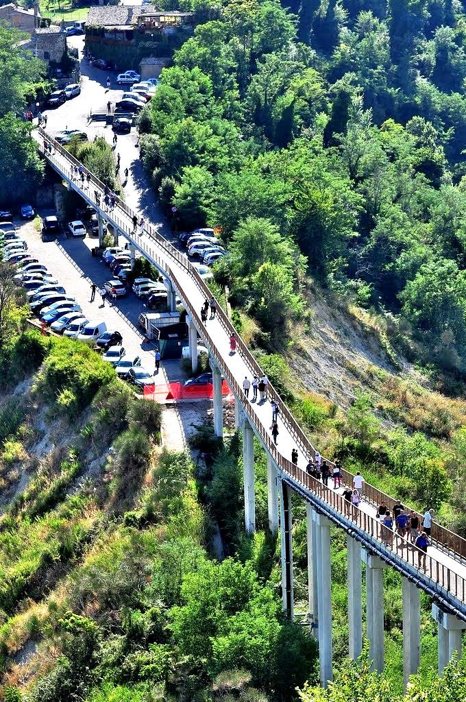 мост чивита ди баньореджо