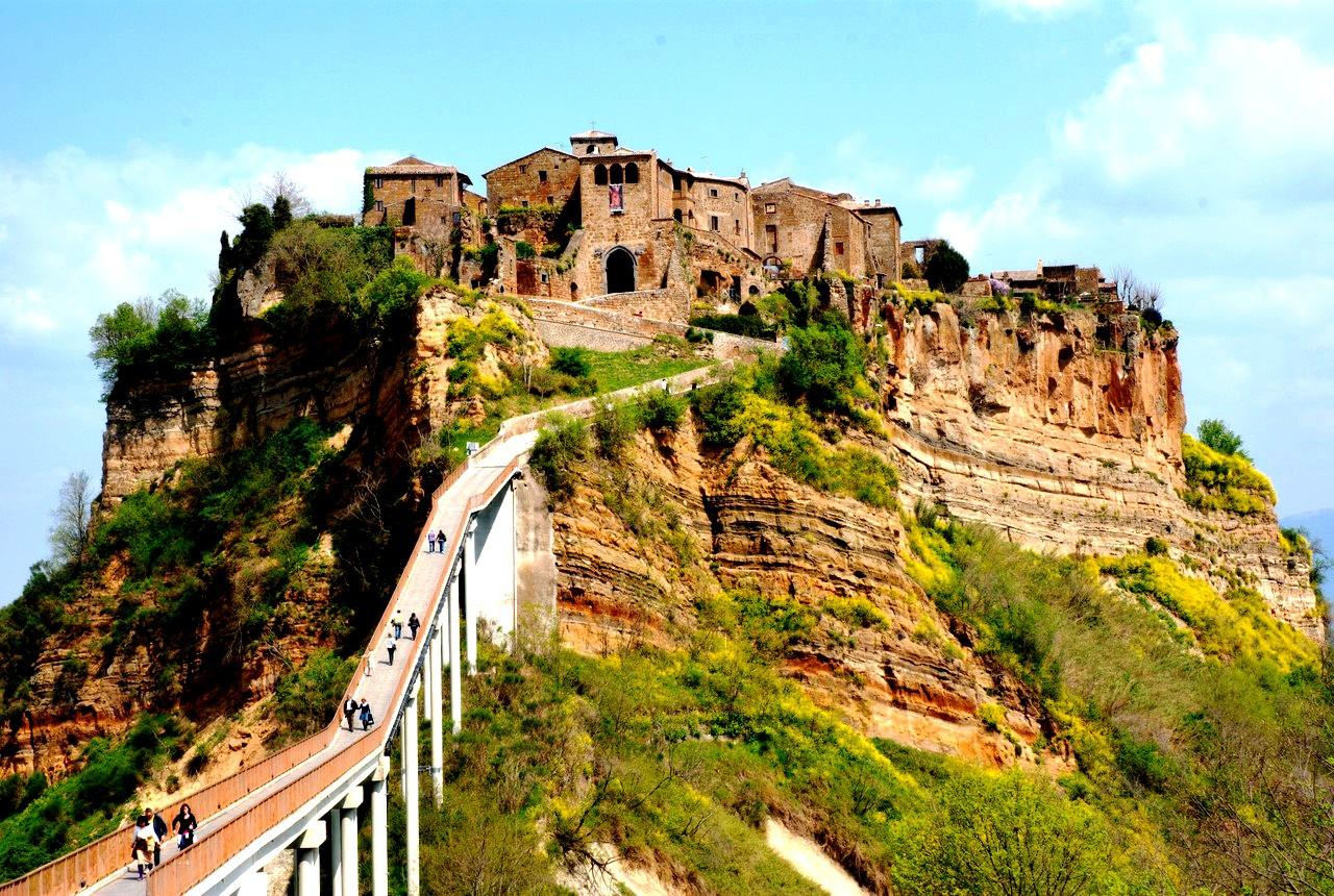 подвесной мост италии