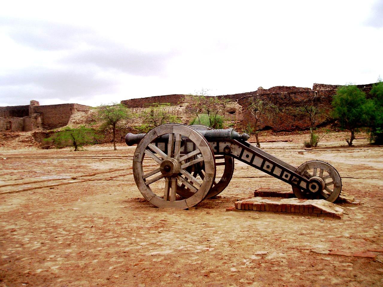 артиллерия деравара