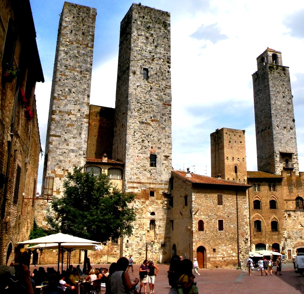 средневековые небоскребы