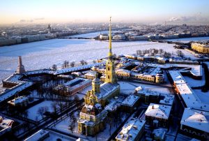 шпиль петропавловского собора
