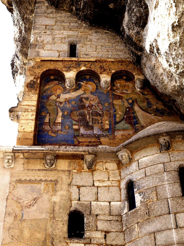 настенная роспись в рокамадуре