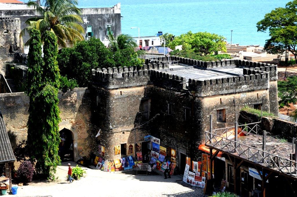 крепость занзибара