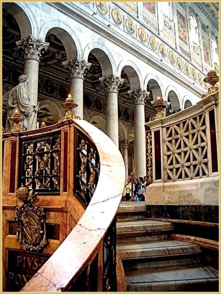 балкон базилики