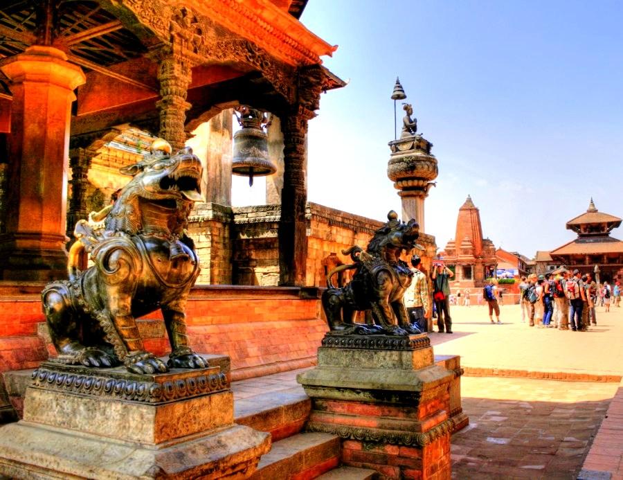 храмы бхактапура