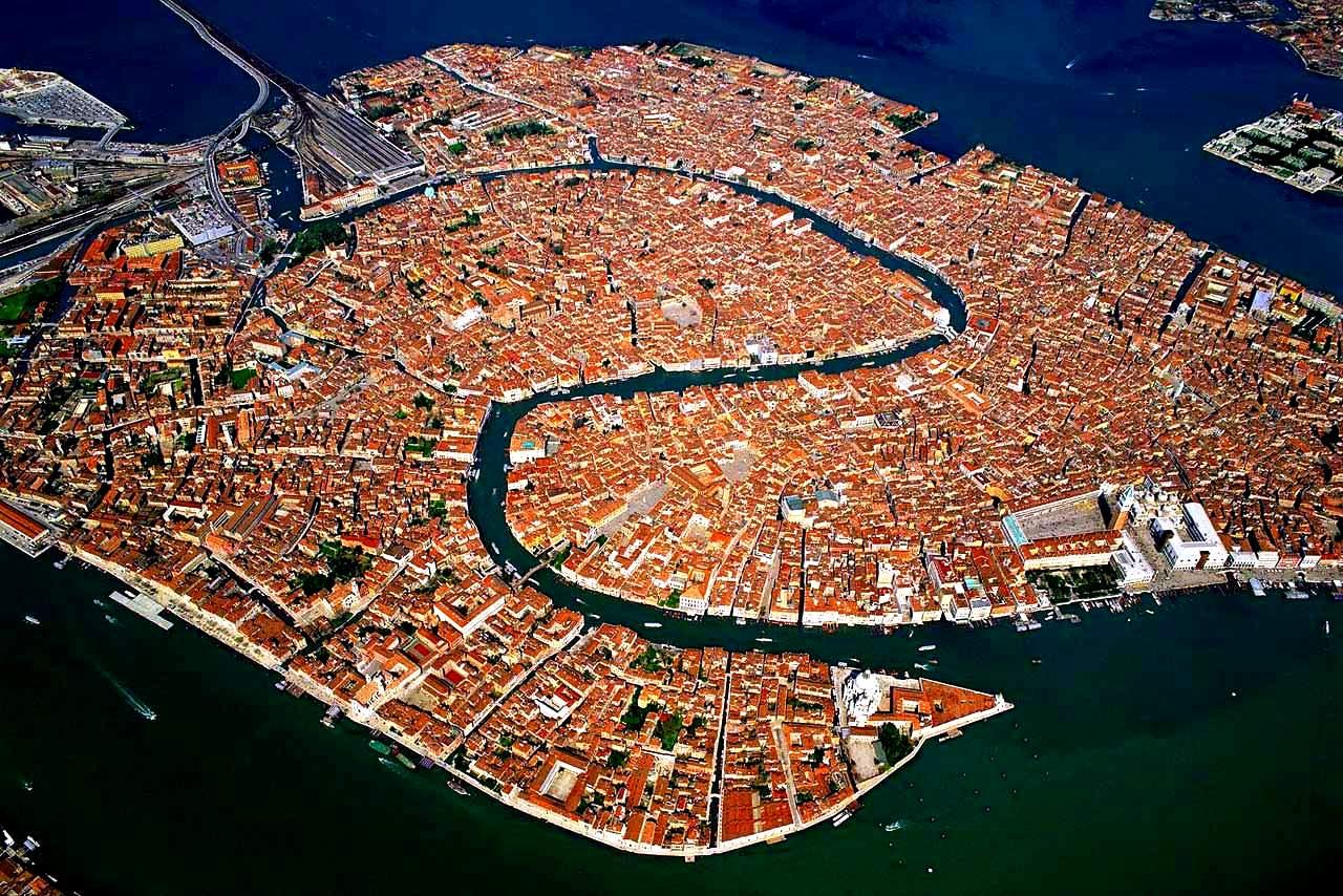 схема венеции