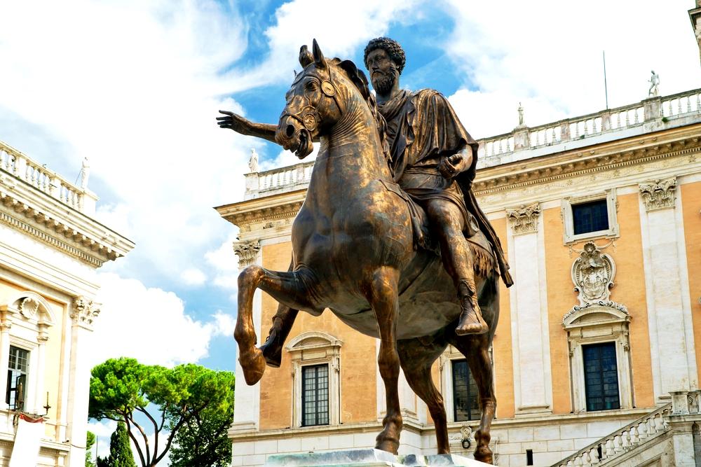 статуя императора
