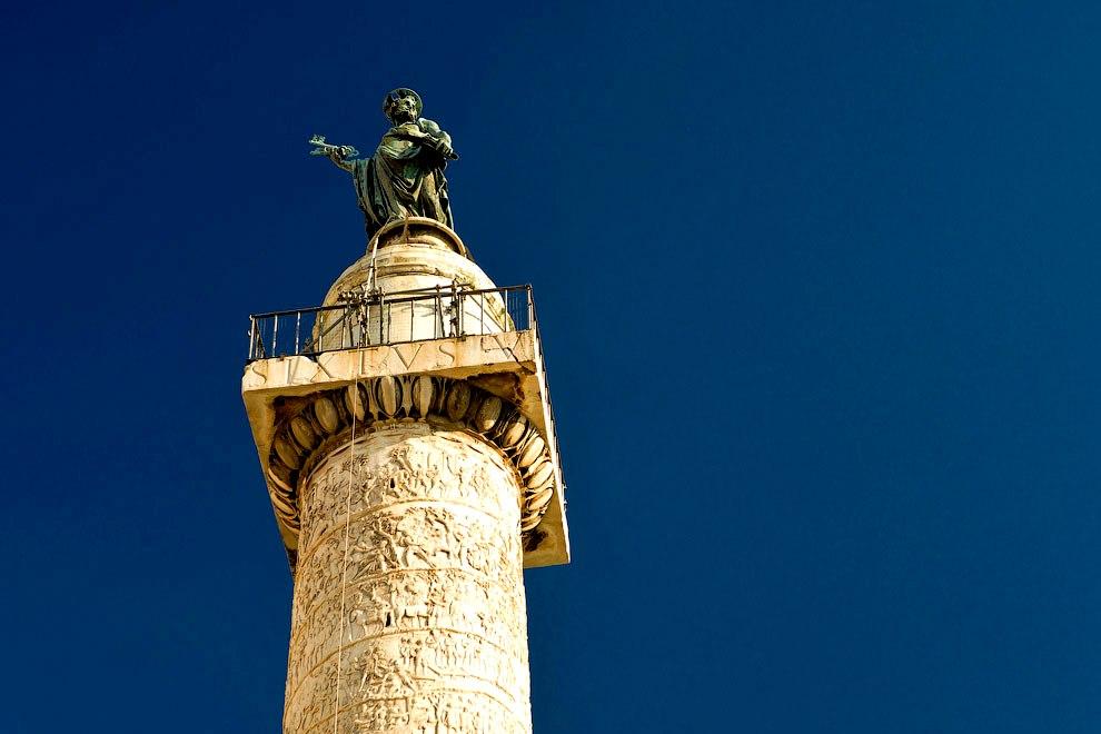 статуя траяна