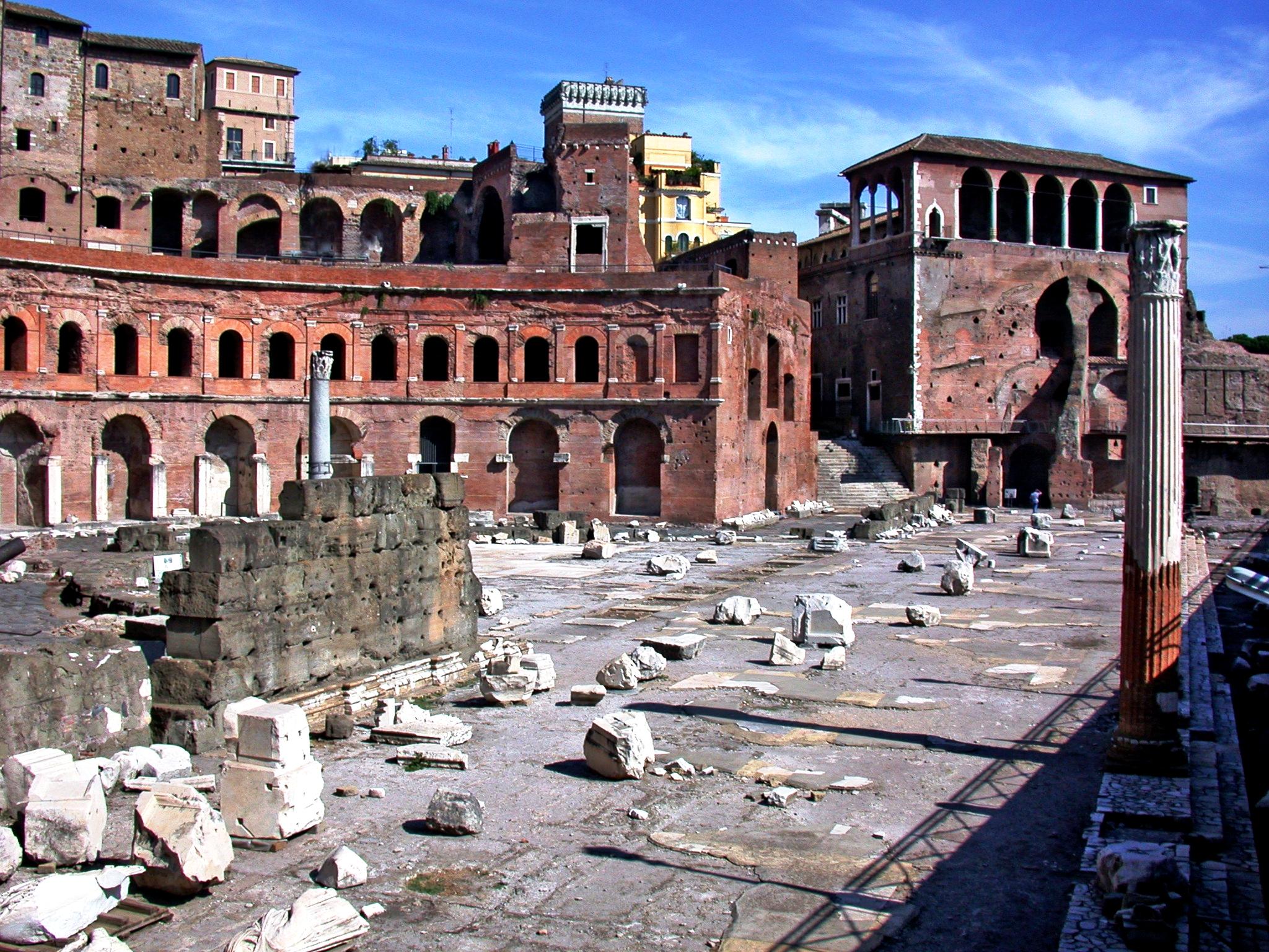 панорама форума траяна