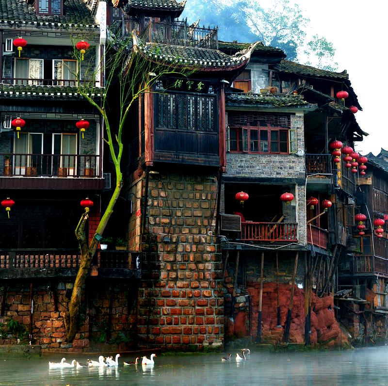 здания фэнхуана