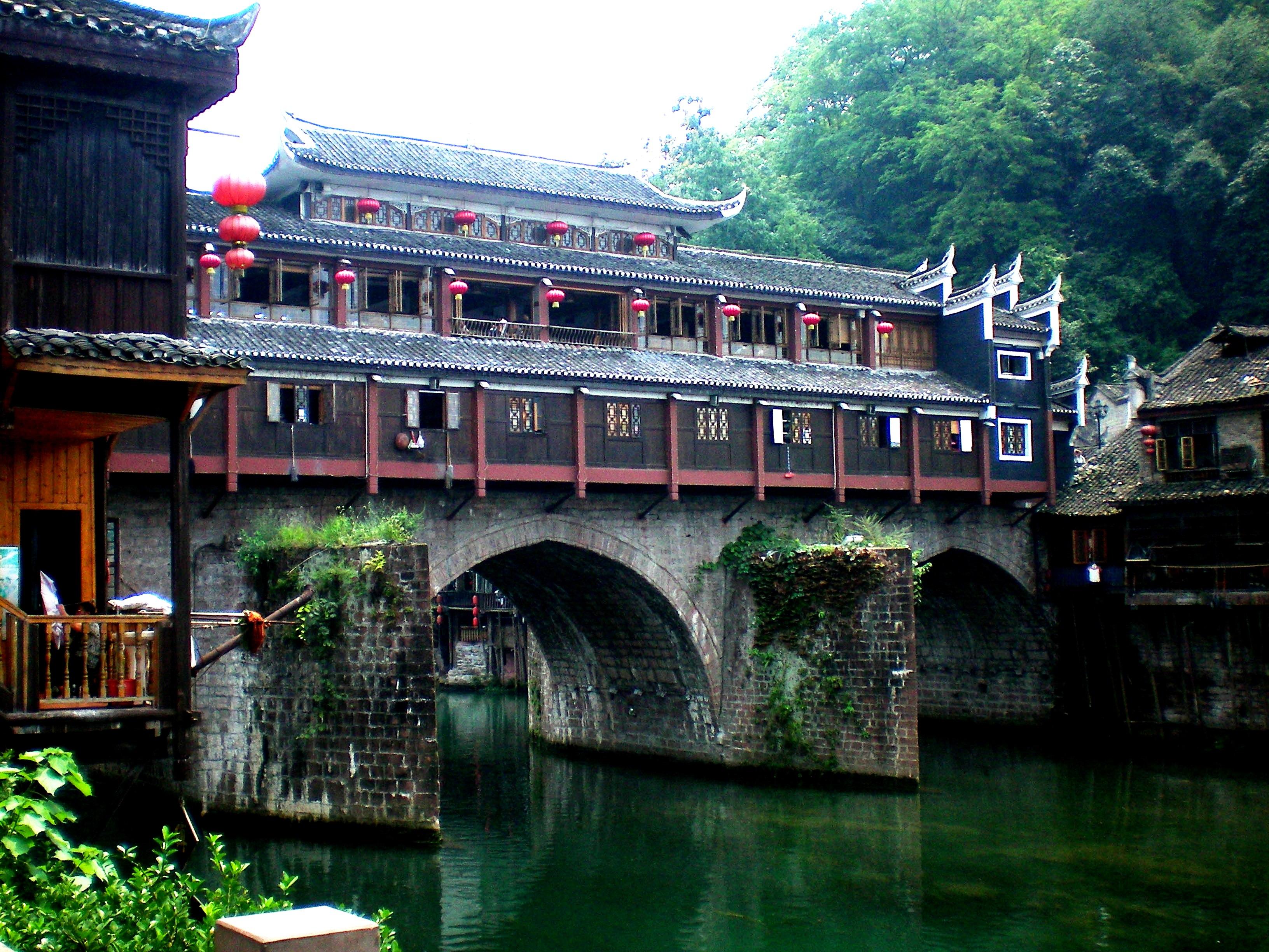 мост в фэнхуане