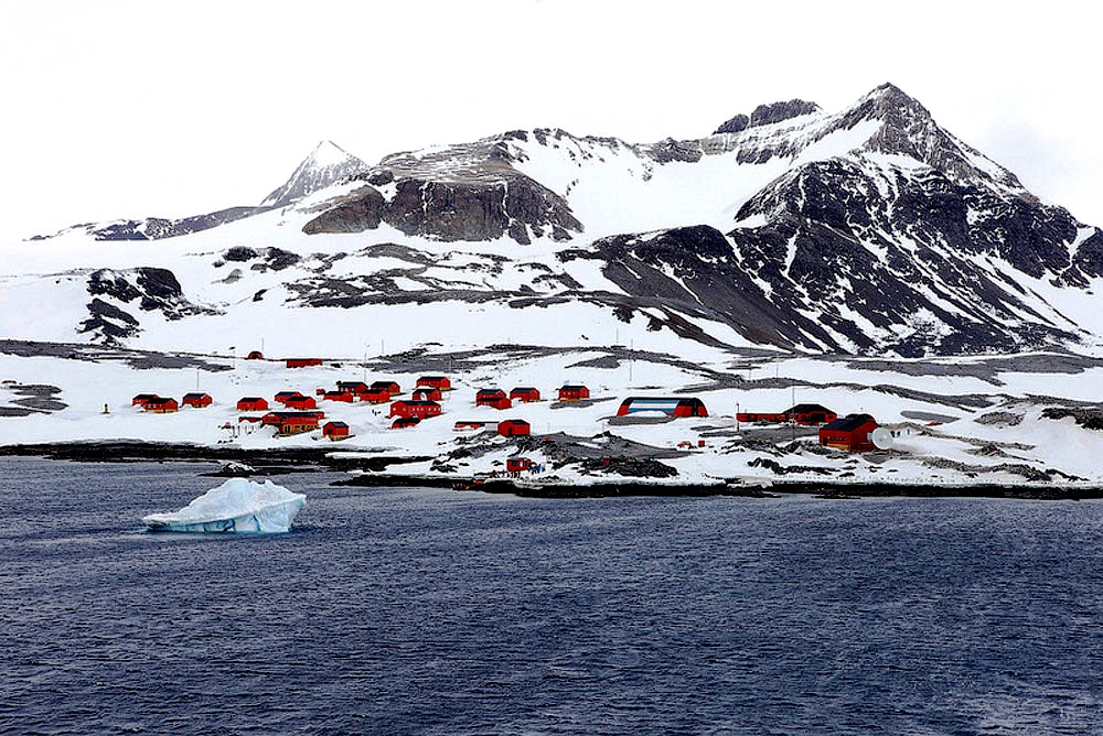 аргентинский поселок в антарктике