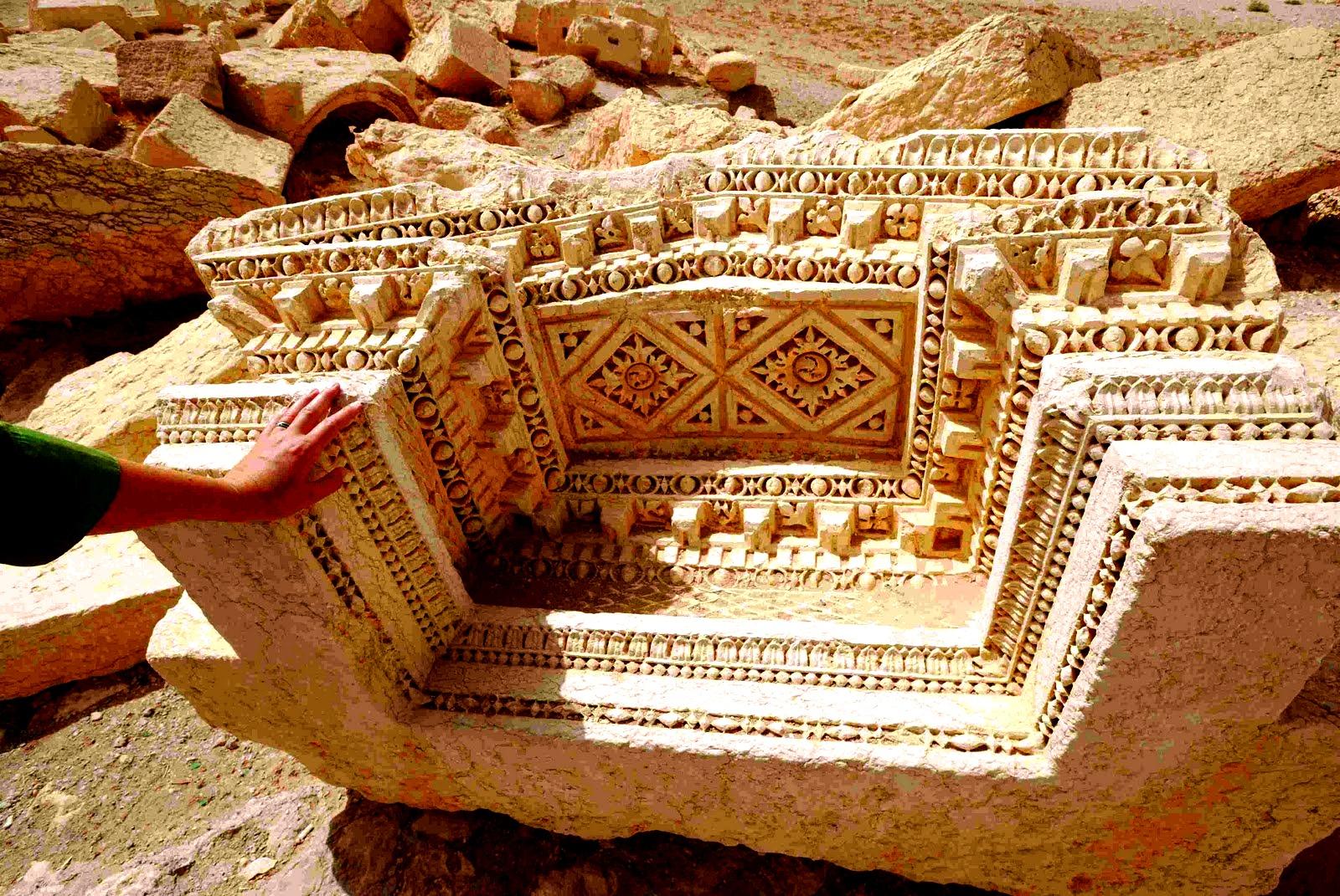 памятники пальмиры