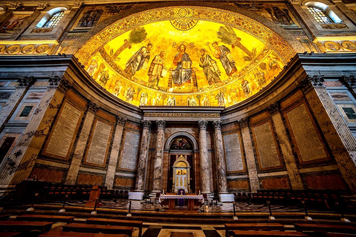 интерьер базилика
