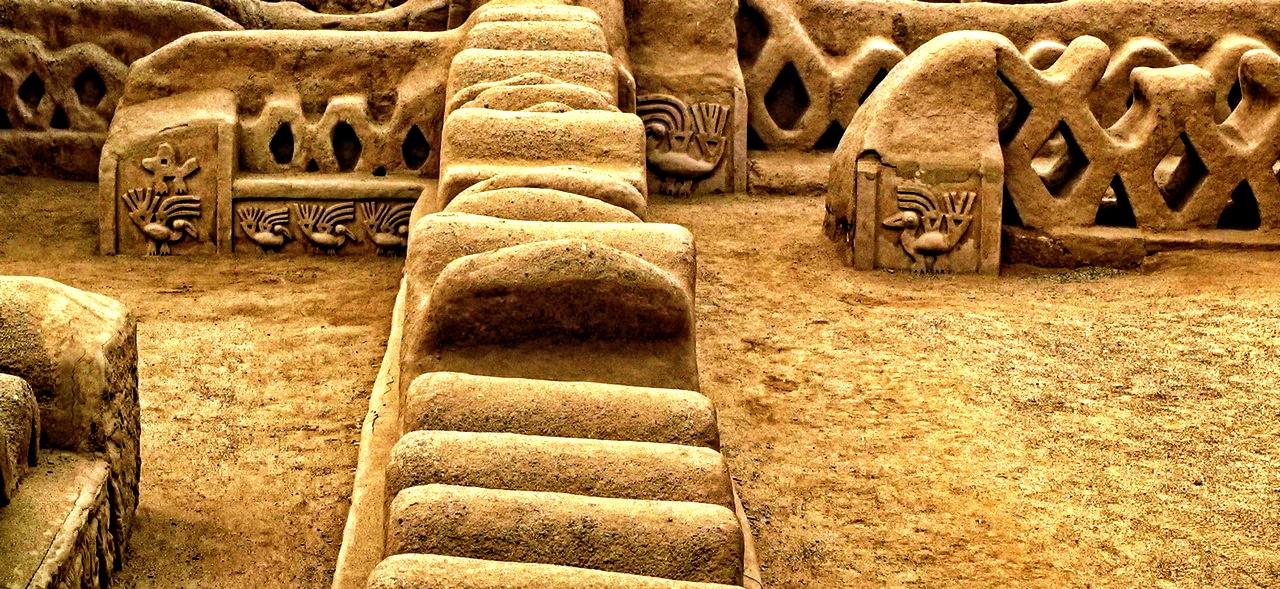 глиняные здания чан-чан