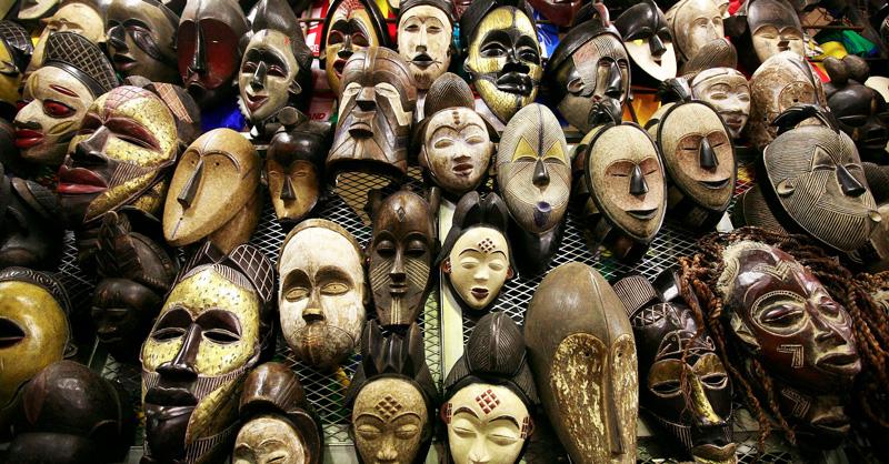 маски йоруба