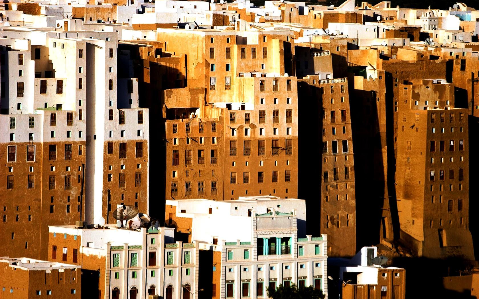 жилища шибама