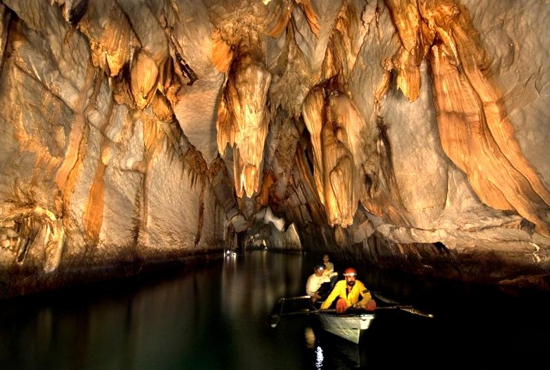 чудеса подземной реки