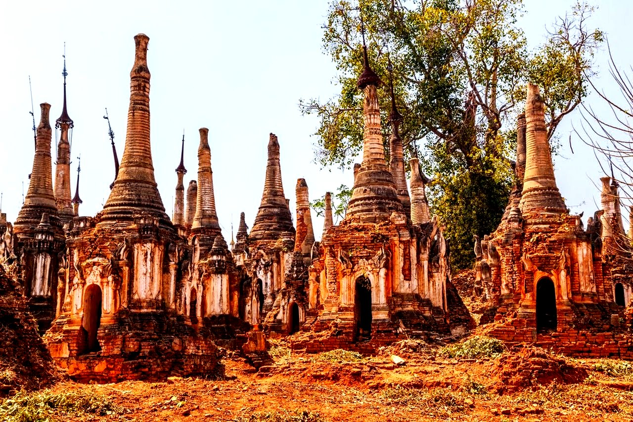 ступы мьянмы
