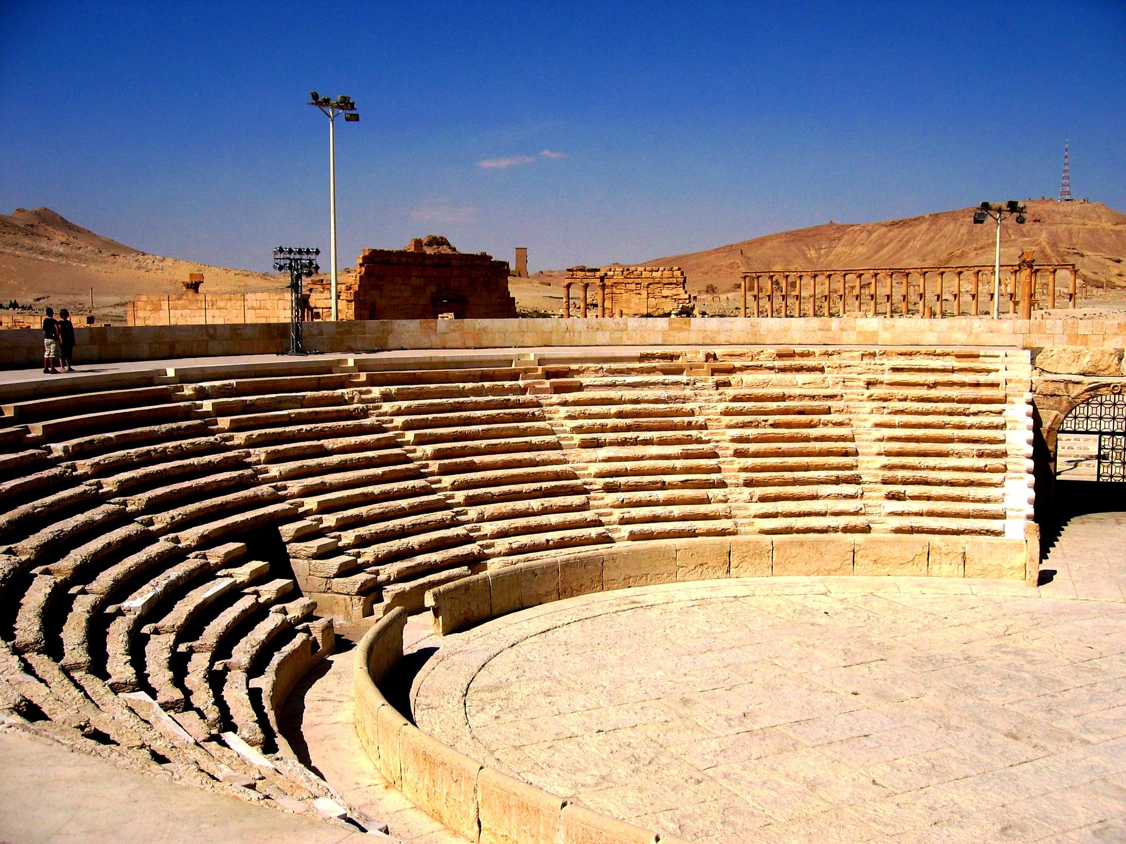 руины театра