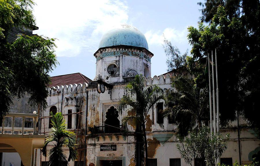 мечеть занзибара