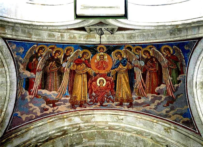 фрески спаса на крови