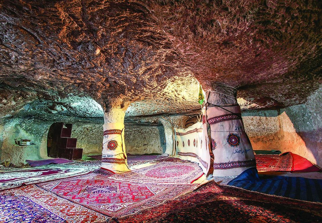 комнаты пещерных домов