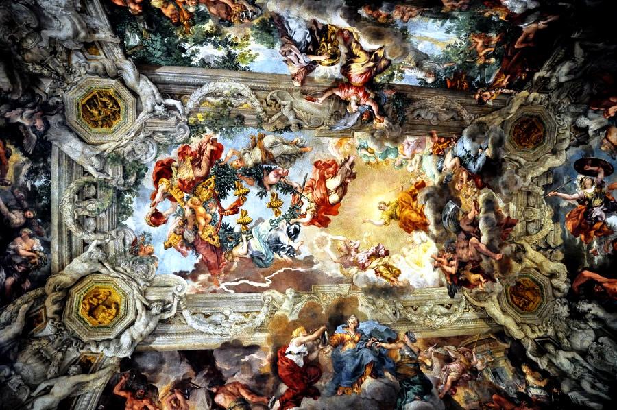 фрески палаццо барберини