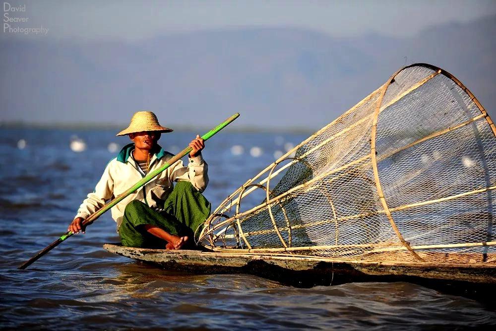 лодка рыбака инта