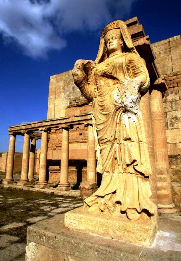 статуя хатры