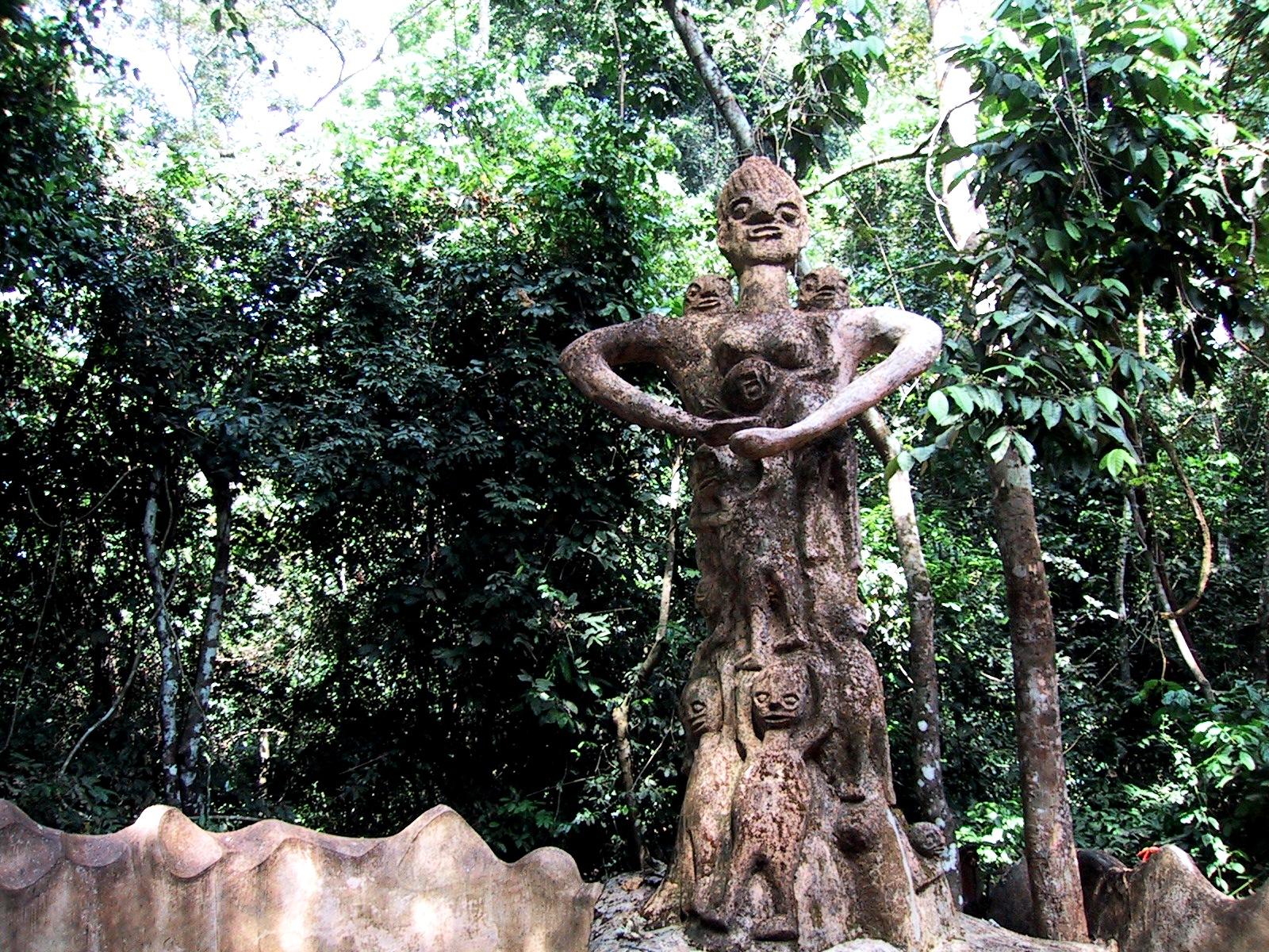 божества осун-ошогбо