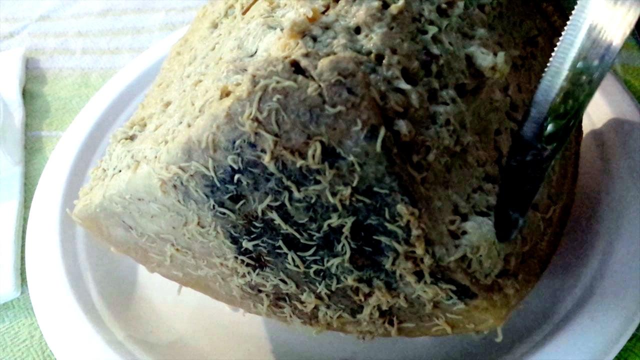 черви в сыре