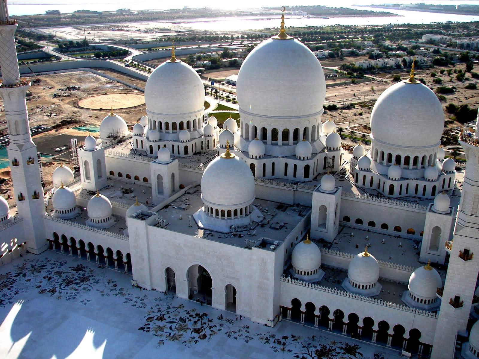 панорама мечети шейха