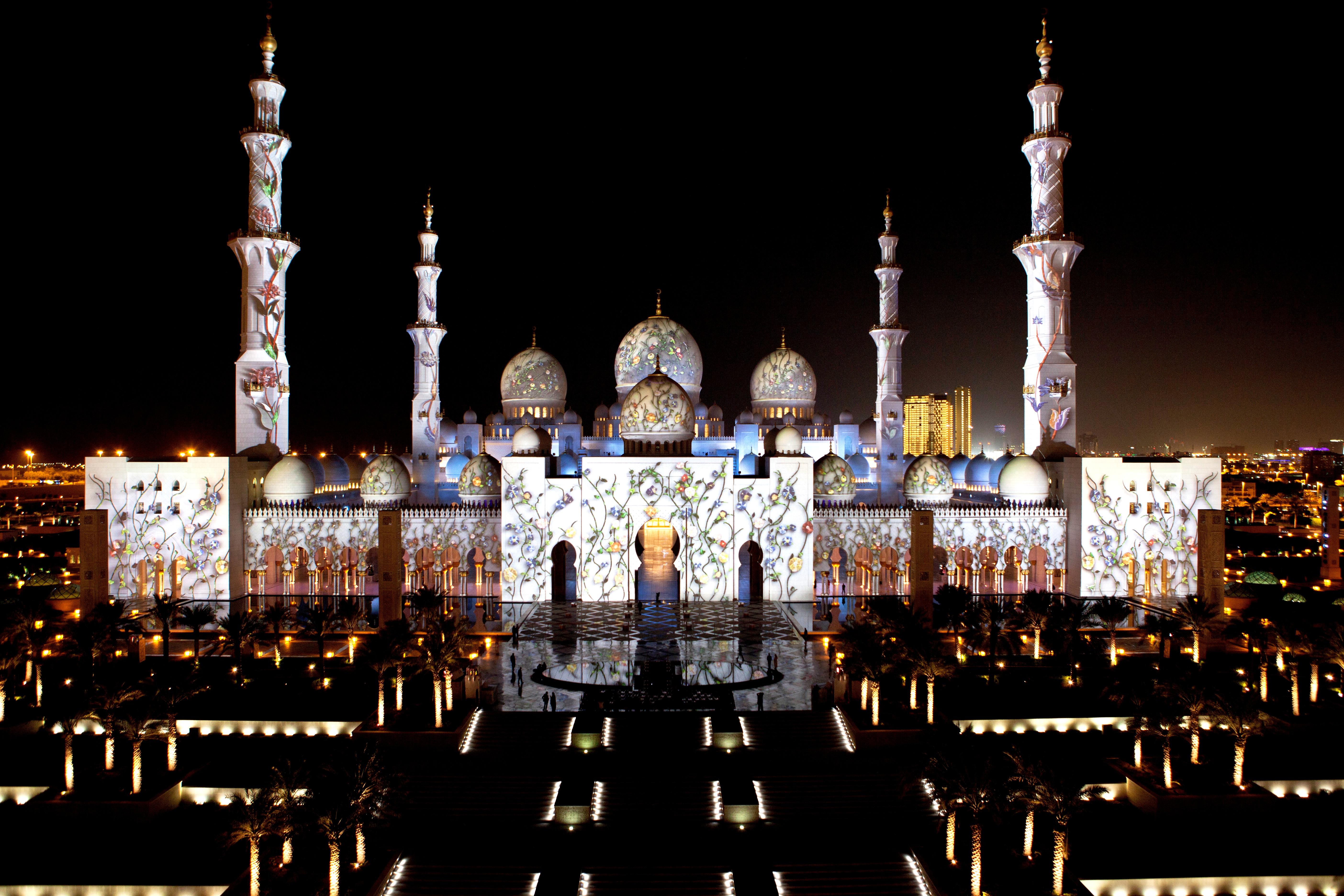 вид на мечеть шейха