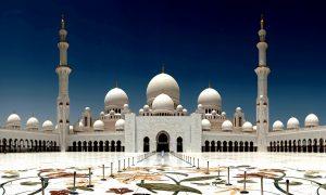 пейзаж мечети шейха