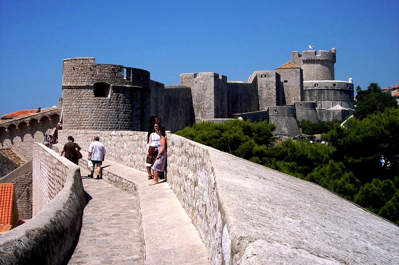город-крепость дубровник