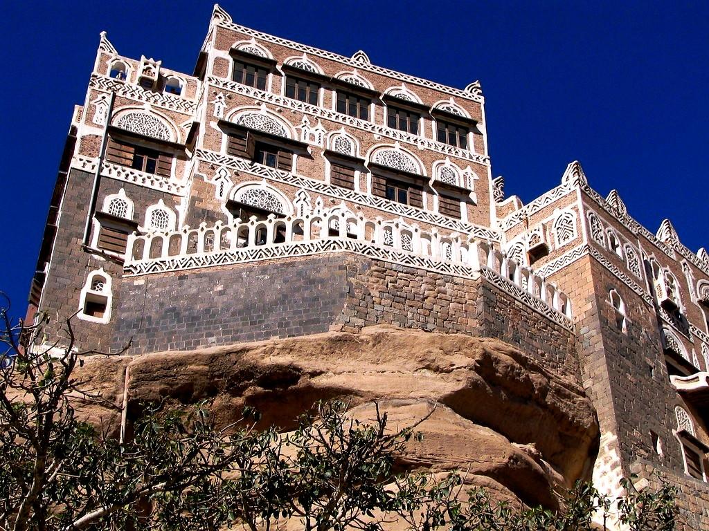 дворец йемена