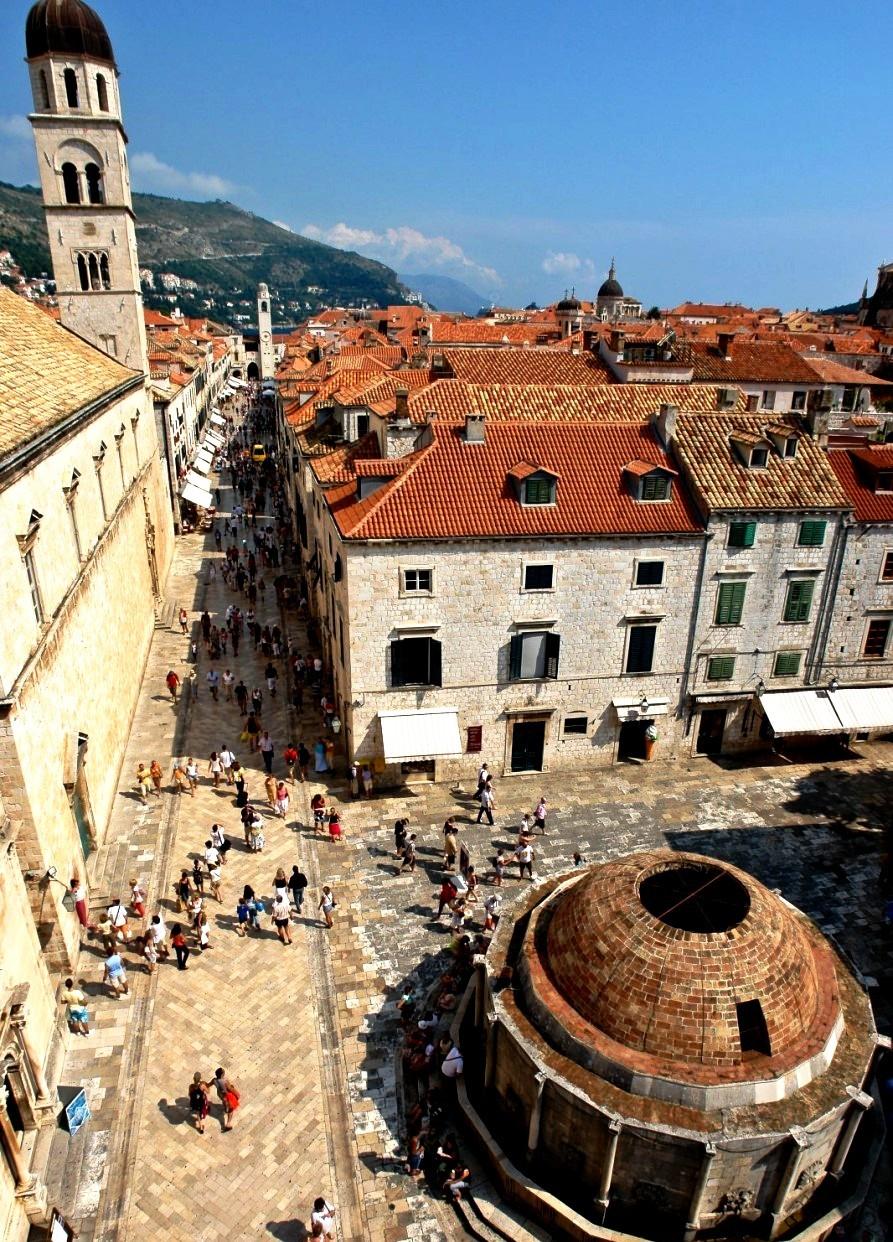 исторические здания дубровника