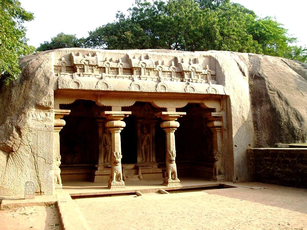 пещерный храм мамаллапурама