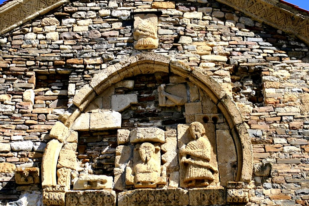 изображение на фасаде Тхаба-ерды