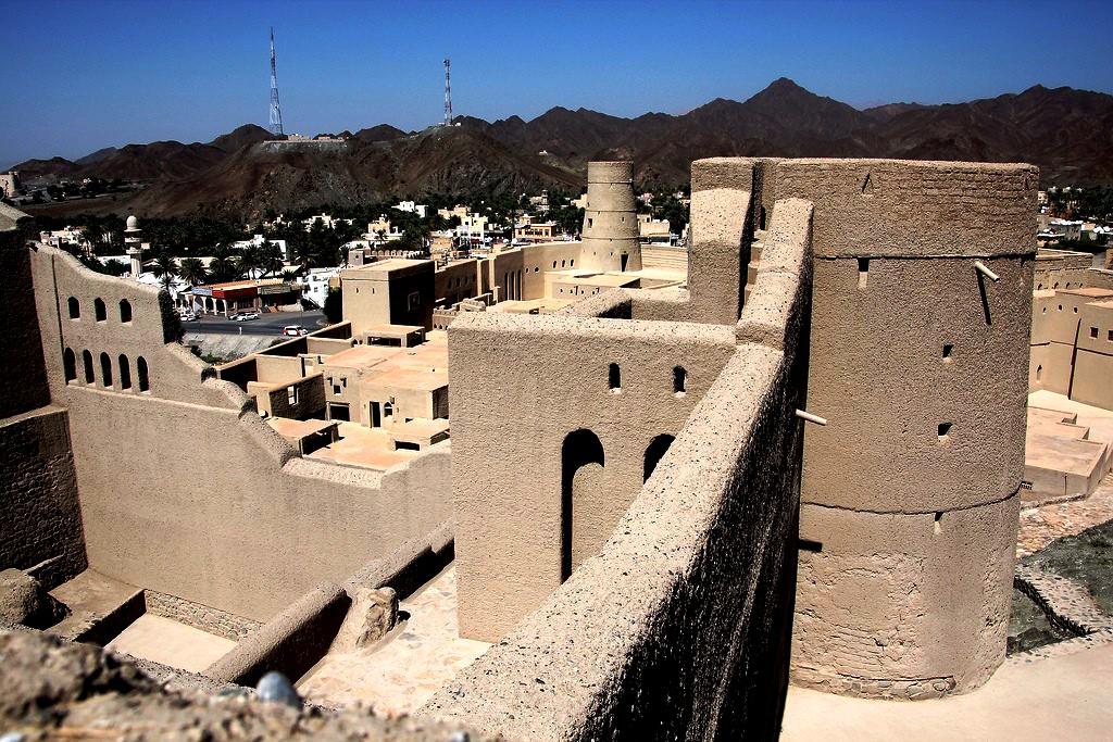 окрестности форта бахла