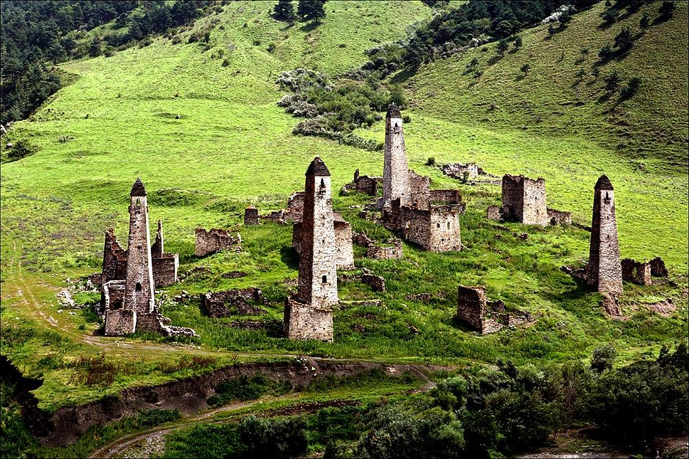 пейзаж башен таргима