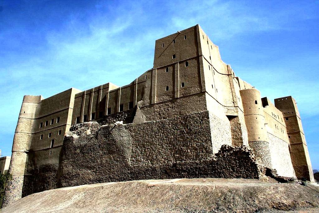 пейзаж форта бахла