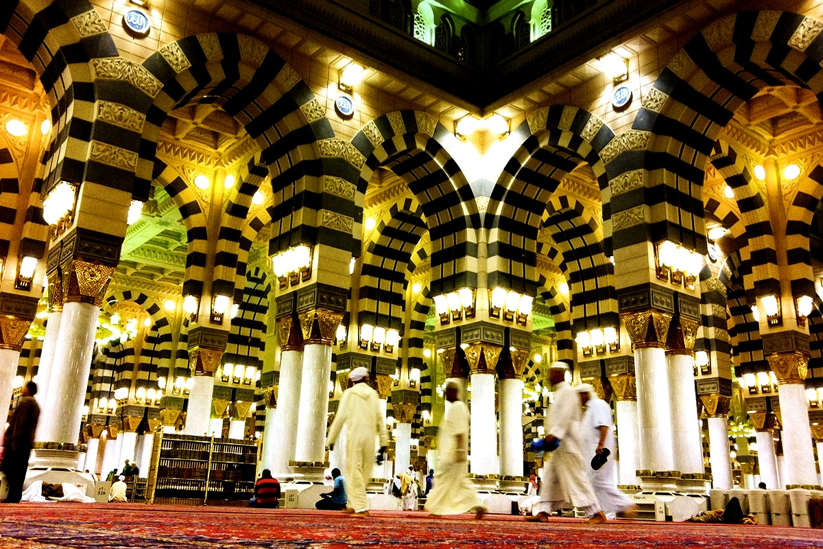 помещения мечети аль-харам